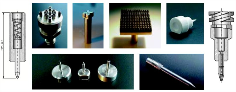 epoxy stamping, dispensing and Luer dispense needles