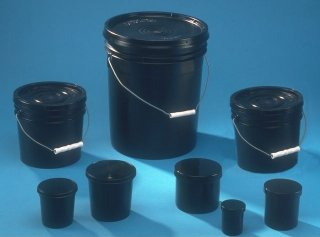UV Ink coatings, inks and fluid containers and storage jars